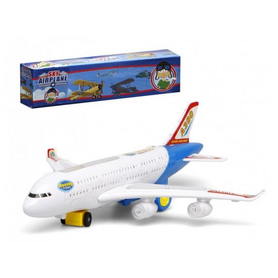 Wit Model Vliegtuig Met Licht En Geluid Bandana winkel kopen