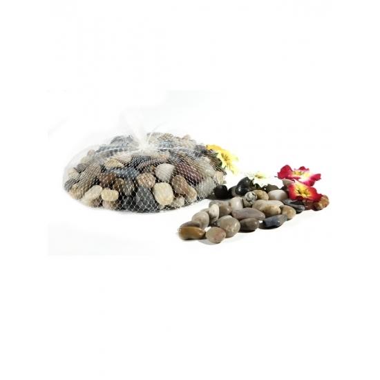 1x Kleine vissenkom steentjes 1 kg