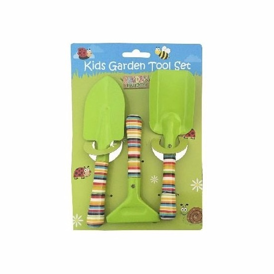 3 delige tuin speelgoedset voor jongens Geen Buitenspeelgoed