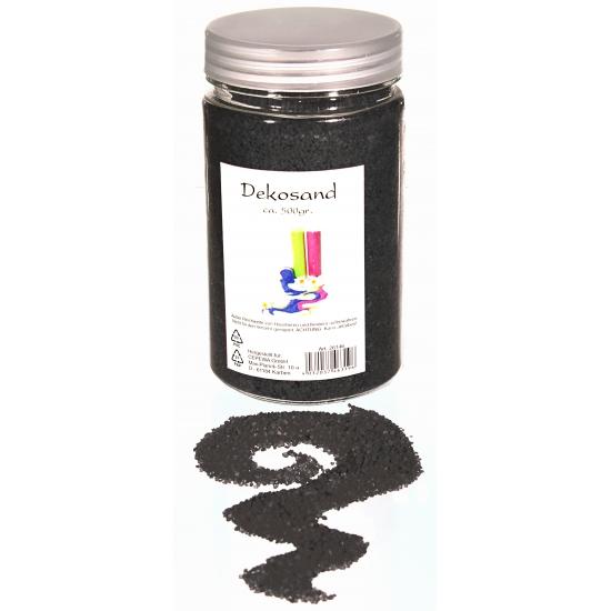Antraciete zand korreltjes 500 gram