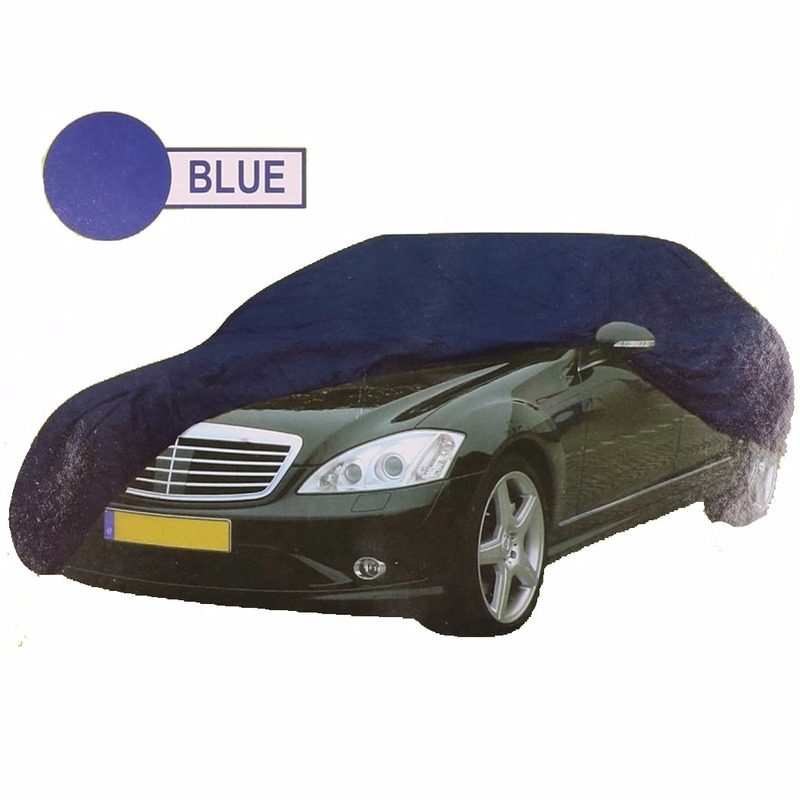 Blauwe auto cover XL 534 x 178 x 120 cm