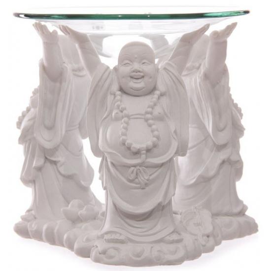 Bandana winkel Boeddha oliebrander 11 cm Woonaccessoires