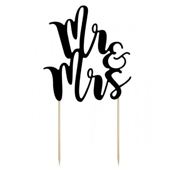 Bruidstaarten decoratie Mr & Mrs