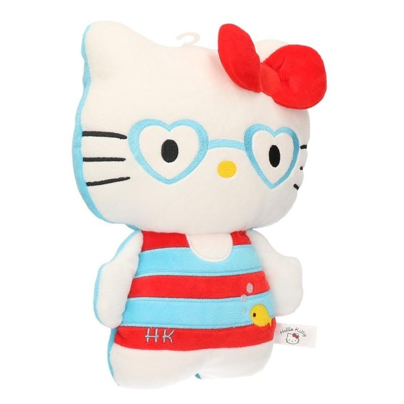 Cartoon knuffels Hello Kitty in badpak