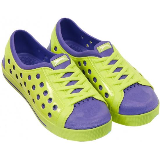 Dames waterschoen van het merk Slazenger in lime-paars