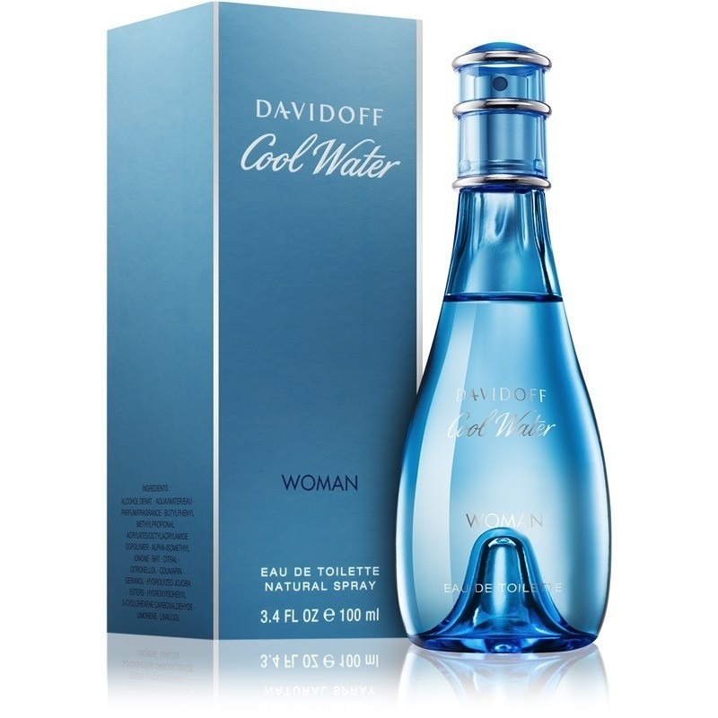 Davidoff Cool Water Woman EDT 100m