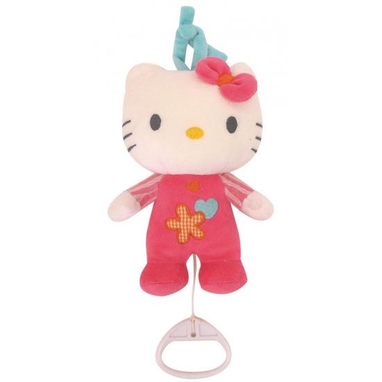 Geboorte kado Hello Kitty met muziek
