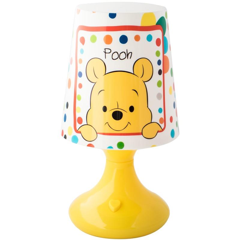 Geel Disney Winnie-Tijgetje lampje-nachtlampje voor kinderen
