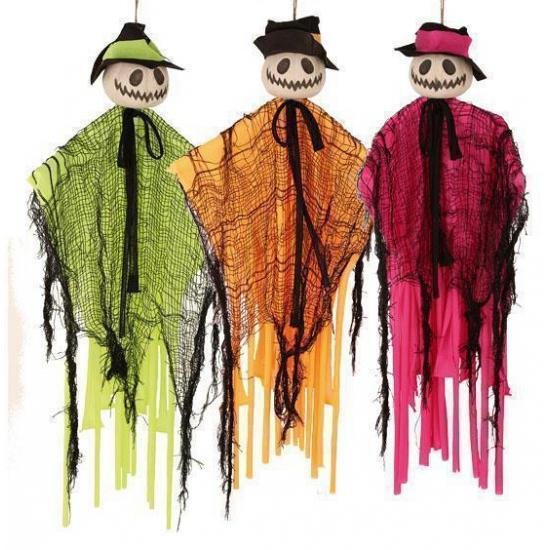 Gekleurde Halloween pop 60 cm
