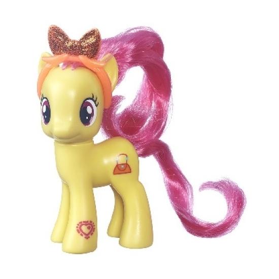 Gele speelgoed My Little Pony 8 cm