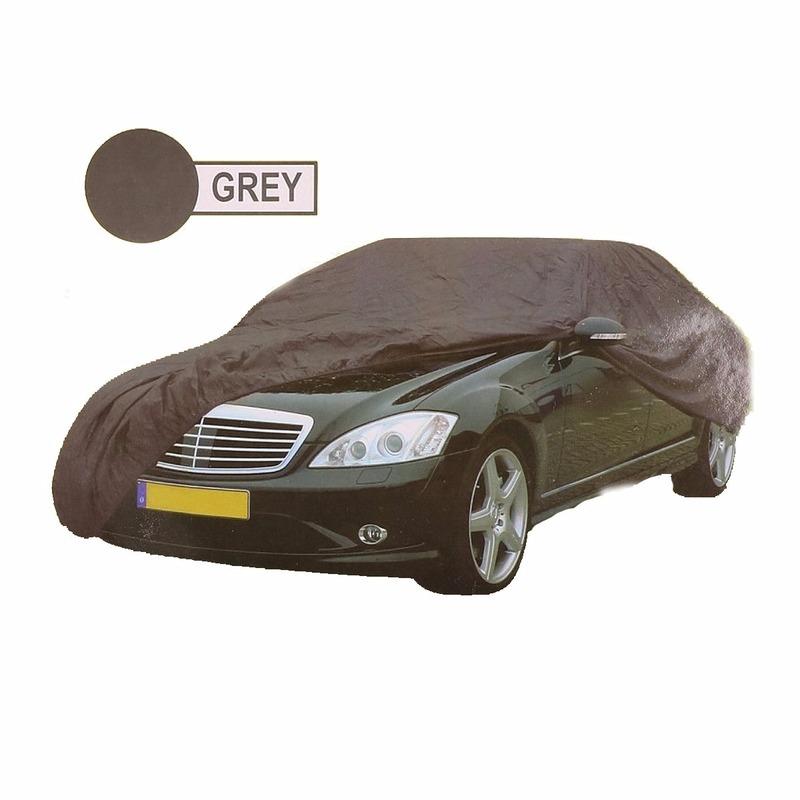 Grijze auto cover XL 534 x 178 x 120 cm Geen beste