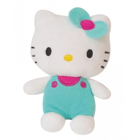 Groen Hello Kitty knuffeltje 12 cm
