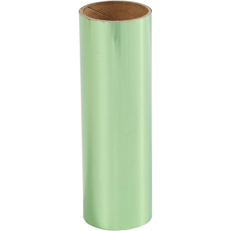 Groene hobby decoratiefolie 50 cm
