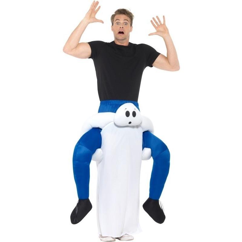 Halloween Instapkostuum spook voor volwassenen