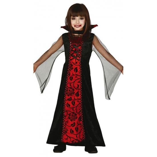 Halloween kleding meisjes vampier