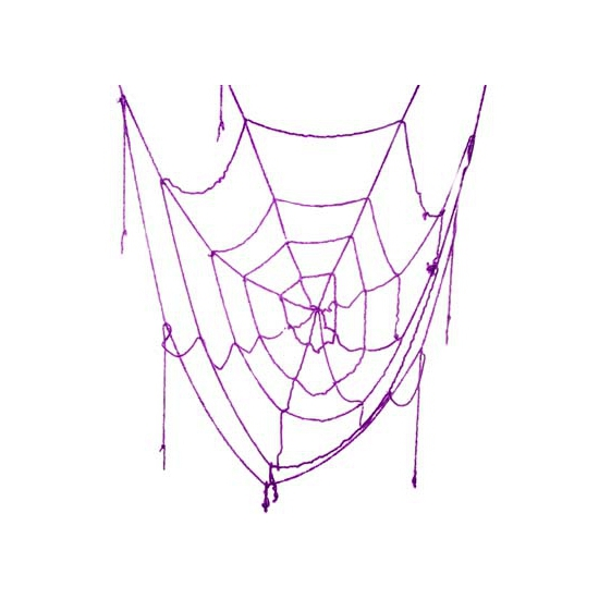 Halloween versiering spinnenweb 160 cm