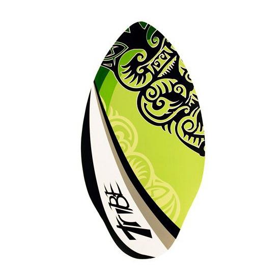 Houten skimboard groen 100 cm