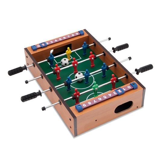 Houten tafel voetbal spel mini