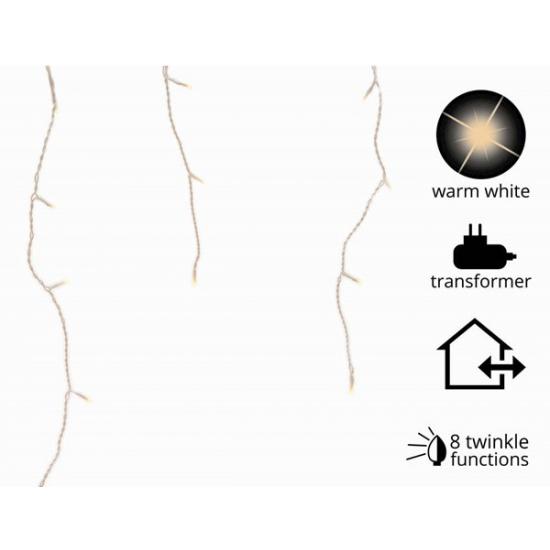 IJspegelverlichting warm wit 175 L met 8 knipperfuncties