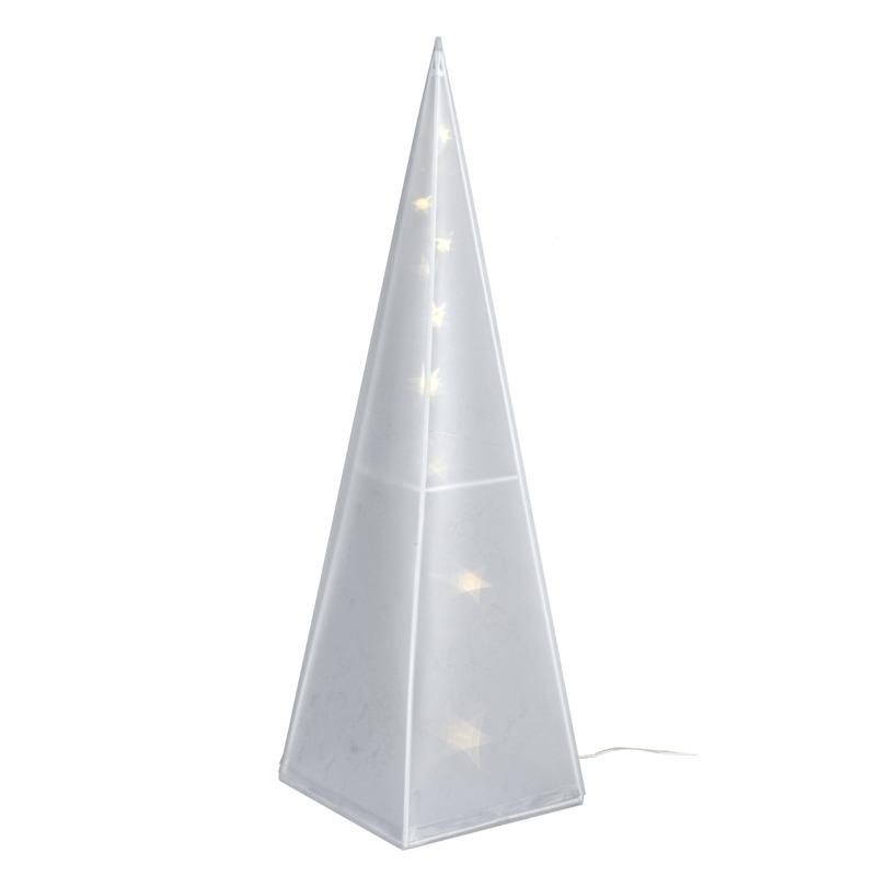 Kerstverlichting piramide vorm 45 cm