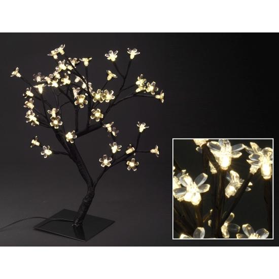 Kerstversiering boom met lichtjes 45 cm