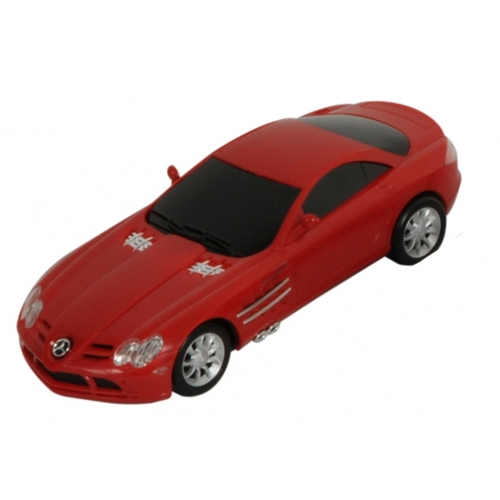 Kinderspeelgoed rode Mercedes autootje SLS McLaren