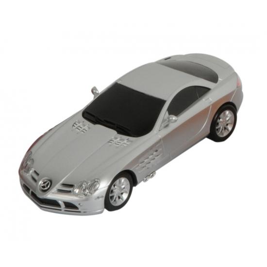 Kinderspeelgoed zilveren Mercedes autootje SLS McLaren