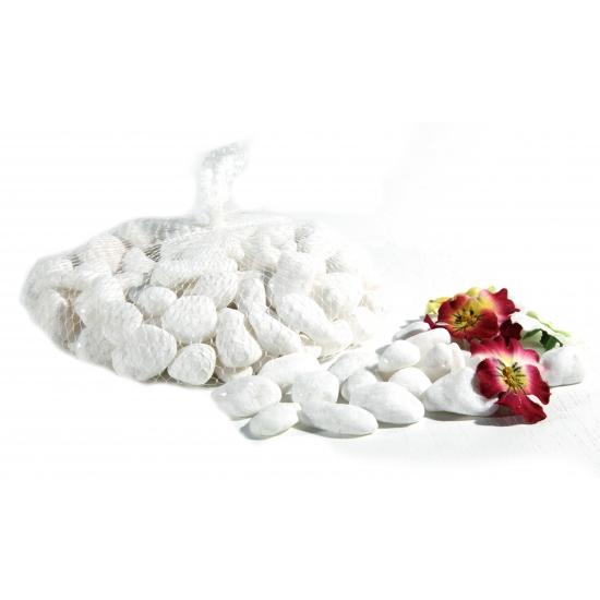 Kleine witte decoratie steentjes