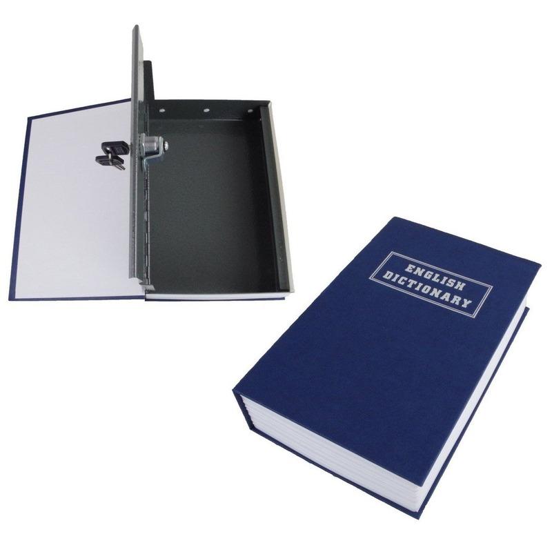 Kluis in boek-Engels woordenboek verstopplek