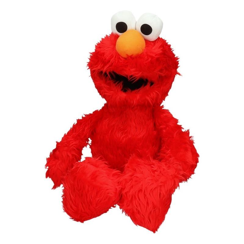 Mega pluche knuffels Elmo 60 cm