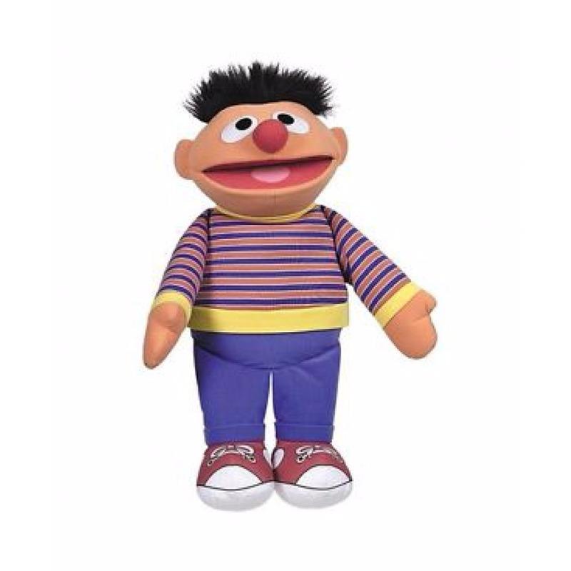 Mega pluche knuffels Ernie 60 cm