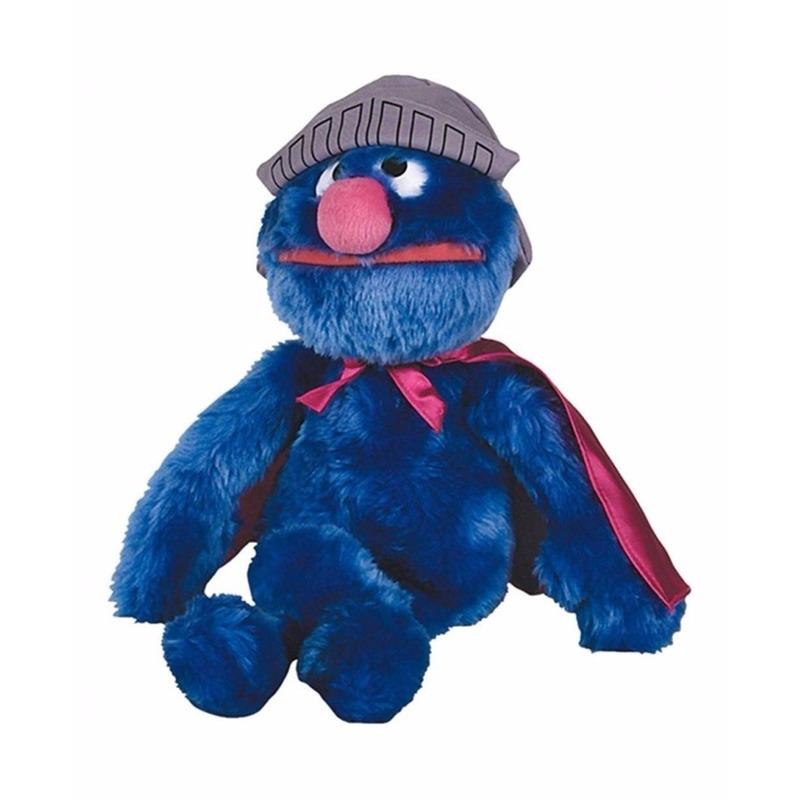 Mega pluche knuffels Super Grover 60 cm