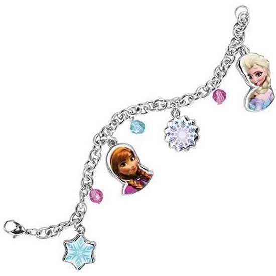Metalen Frozen armbandje met bedels voor meisjes
