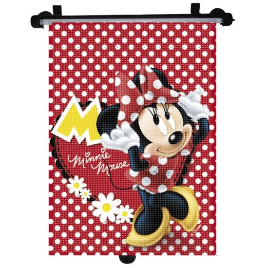 Outdoor Vakantie Disney Oprolbare Minnie Mouse zonnescherm
