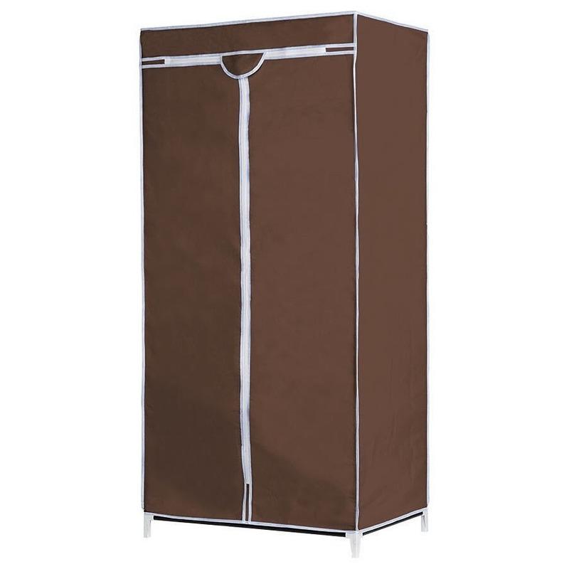 Opvouwbare campingkast met bruine hoes 160 cm