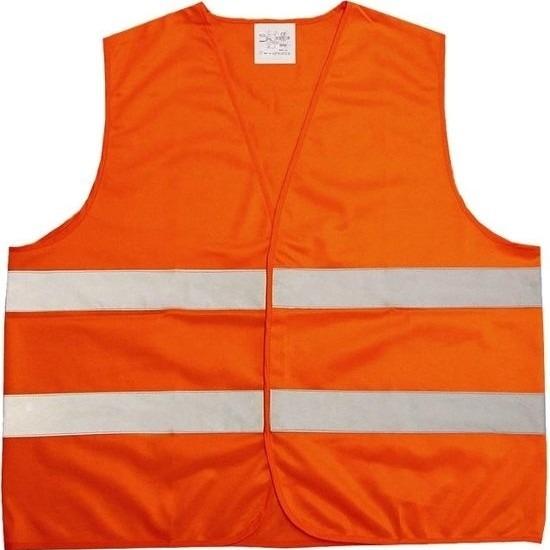Overige kleding Oranje veiligheidsvest voor volwassenen