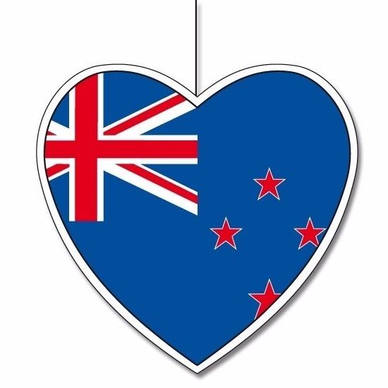 Papieren hart Nieuw Zeeland 14 cm