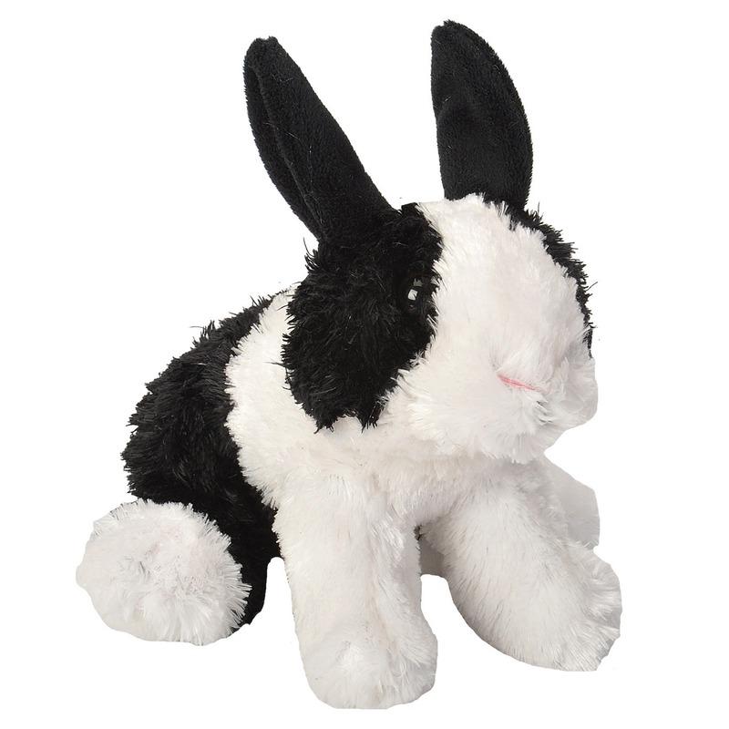 Pluche Hollander konijnen knuffels 18 cm