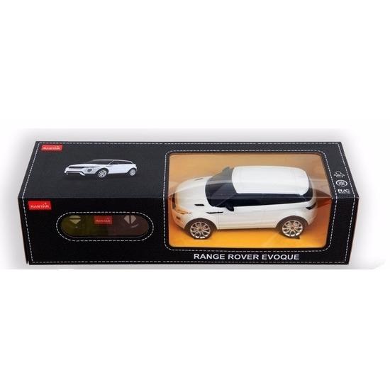 Range Rover Europcar wit speelgoed auto met afstandsbediening 1:24