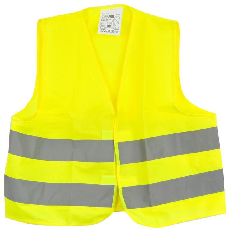 Overige kleding Geen Reflecterend veiligheids vestje geel voor kinderen