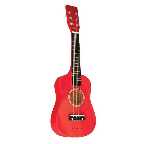 Rode gitaren voor kinderen