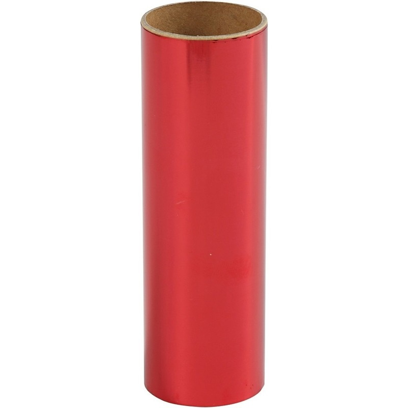 Rode hobby decoratiefolie 50 cm