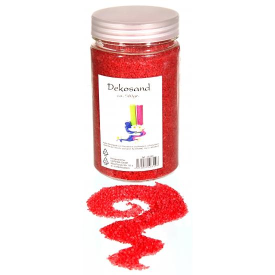Rode zand korreltjes 500 gram