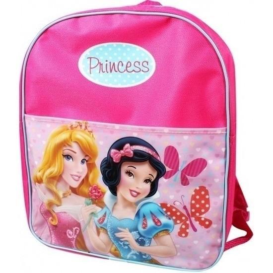 Roze Disney Princess sporttassen Doornroosje en Sneeuwwitje