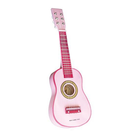 Roze gitaren voor kinderen