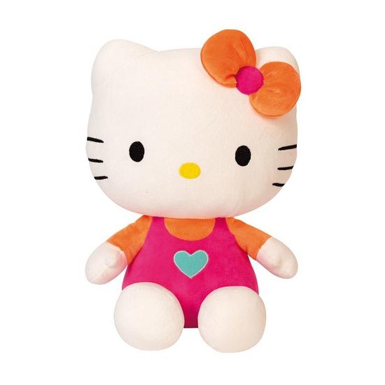 Roze Hello Kitty knuffels 30 cm