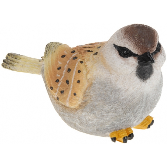 Sier vogeltjes Musje van 17 cm