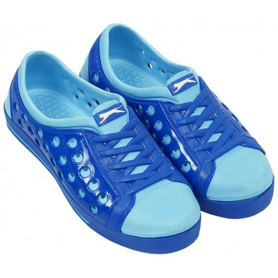 Slazenger dames waterschoen in kobalt-lichtblauw