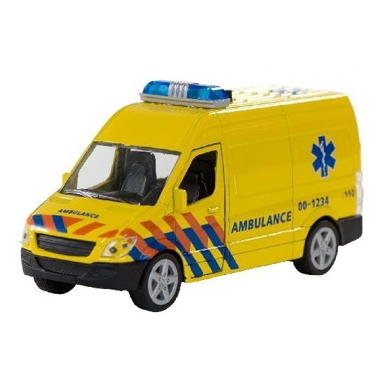 Speel 112 ambulance met licht en geluid