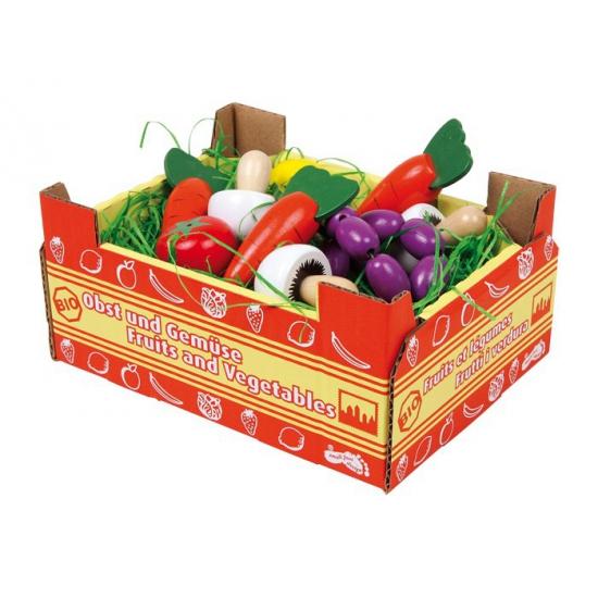 Speelgoed groente kistjes